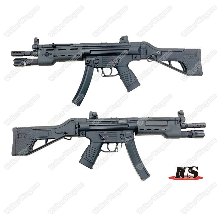 ICS CES-P MS1 S3 SFS Stock Tactical Mp5 With LED FlashLight
