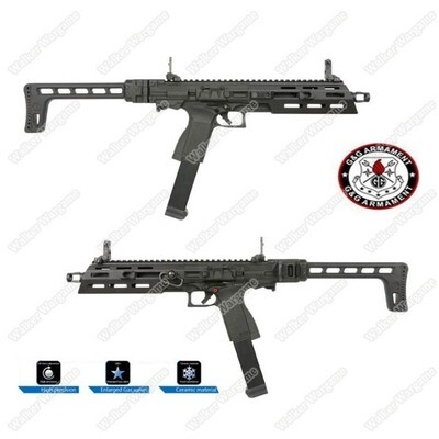G&G SMC9 Gas Blow Back GTP9 Roni  SMG Airsoft