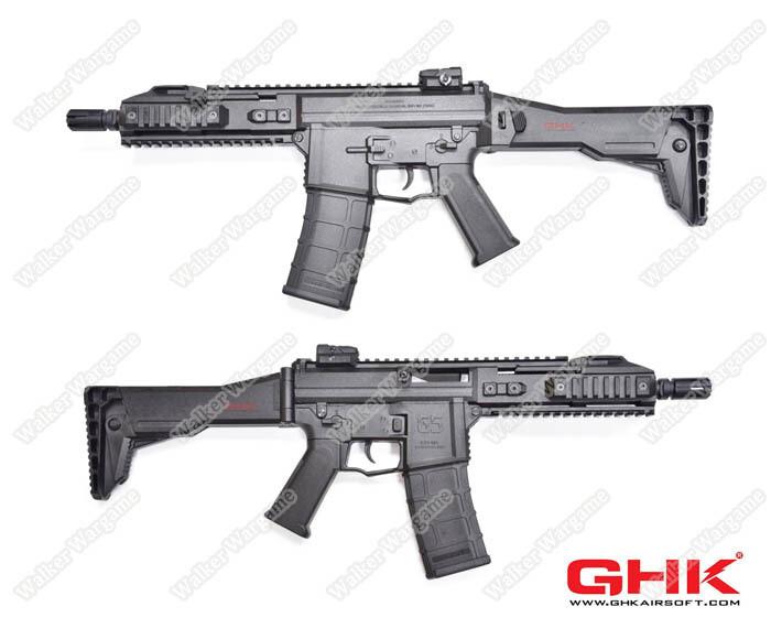 ETA April 2020 GHK G5 GAS BLOW BACK RIFLE (GBBR) - BLACK