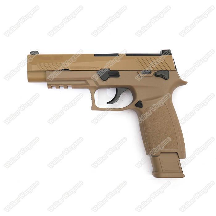 ETA March 2020 - WE Tech SIG P320 M17 Green Gas GBB Pistol F17 - Tan
