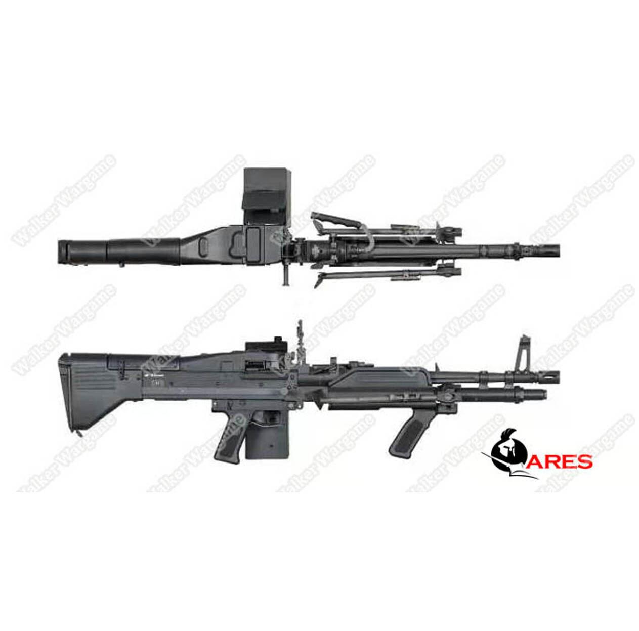ETA Mid March 2020 - Ares M60 Heavy Machine Gun HMG AEG Airsoft