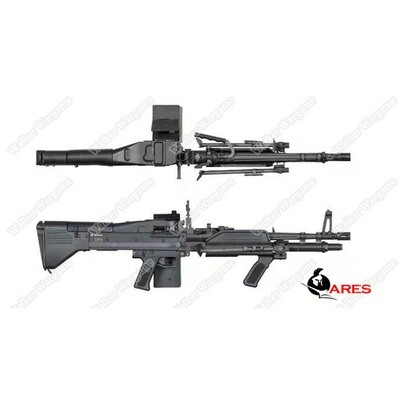 ETA Mid March 2020 - Ares M60 Heavy Machine Gun HMG AEG Airsoft