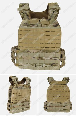 VE61 CrossFit Tactical Molle Plate Carrier Vest - Multicam