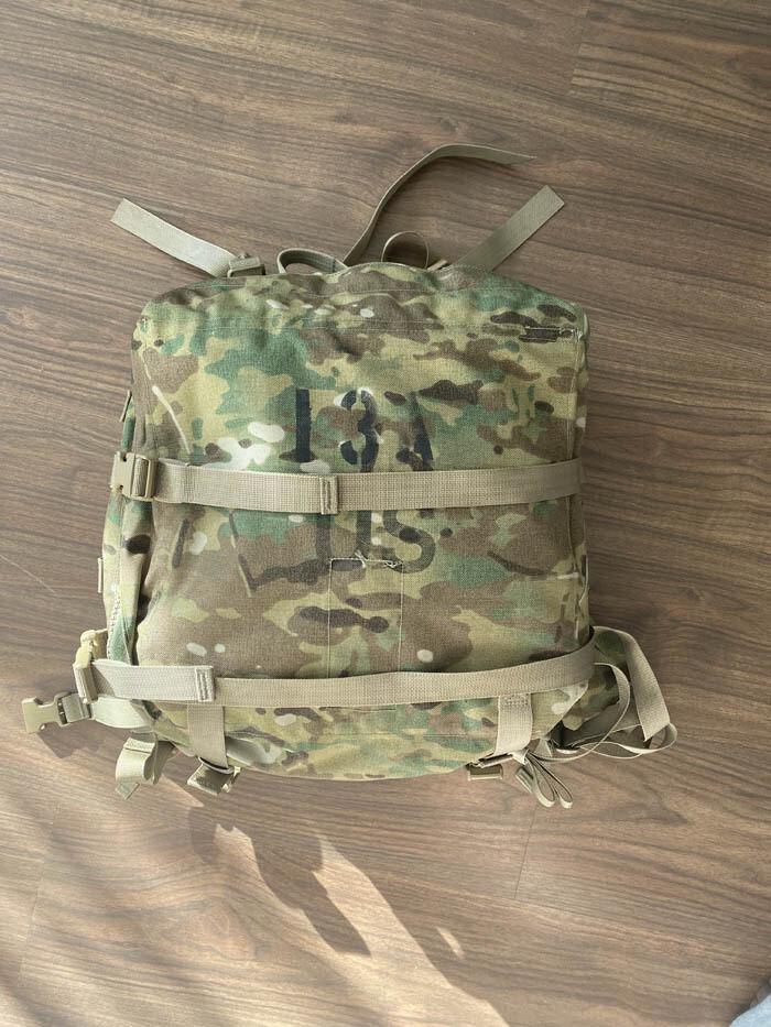 Used Original Molle II Modular Light Weight Load - Carrying Equipment Medic Bag Multicam OCP