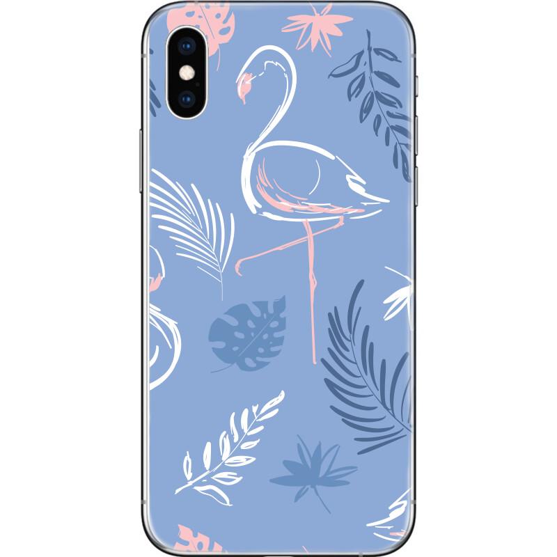 Flamingo tripocal leaves