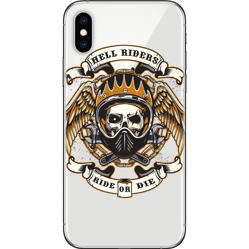 skull of biker