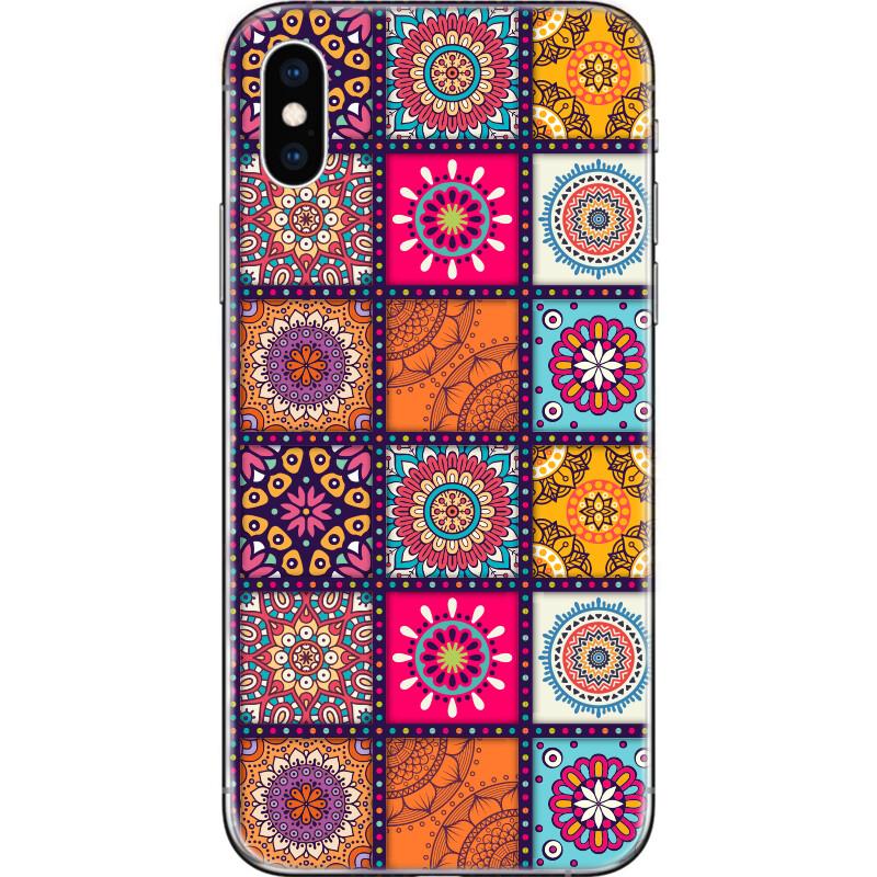 Seamless mandalas pattern
