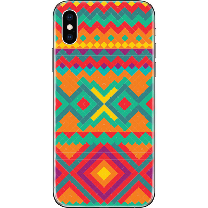 Tribal Mexican seamless pattern