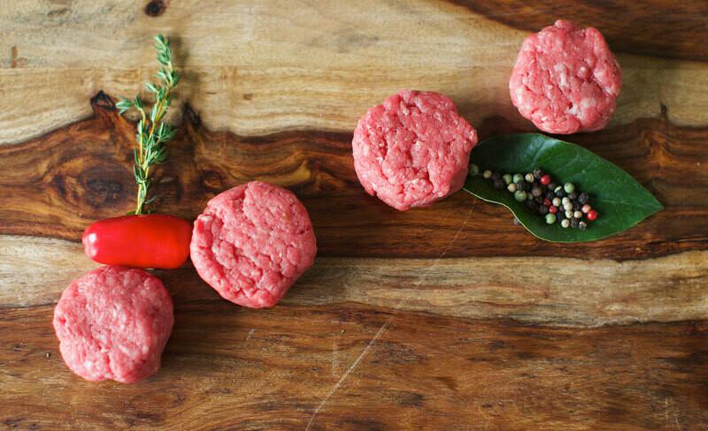 12/2oz Piedmontese Steak Sliders 85/15 (1.50 lbs)