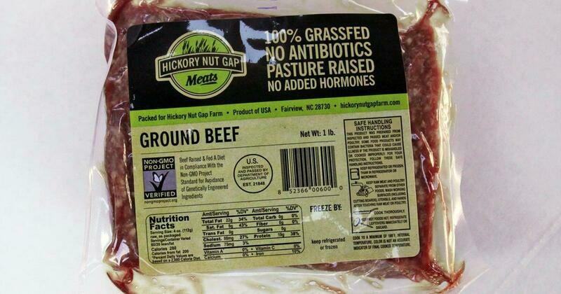 100% Grass Fed Ground Beef 80/20