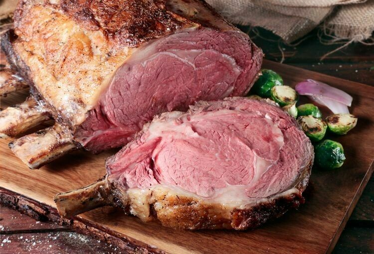 1855 Bone-in Prime Rib Roast (5-6lb.)
