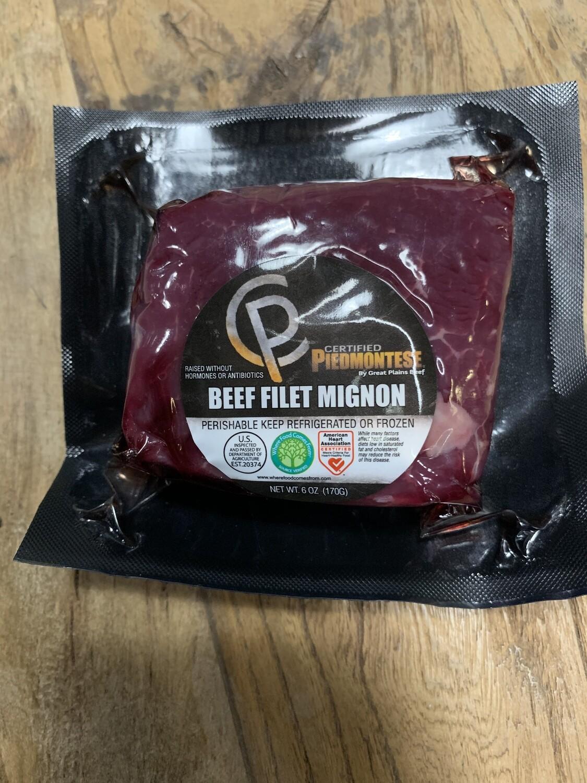 6oz Piedmontese Filet Mignon