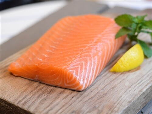 6oz Norwegian Salmon Filets Bnls Sknls