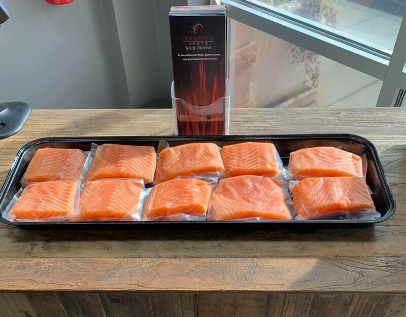 7oz Fresh Scottish Salmon Filet