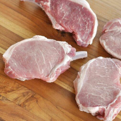 8oz Frenched Rib Cut Pork Chop