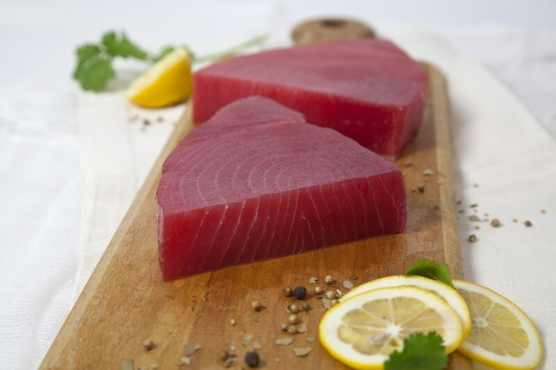 8oz Fresh Wild Caught Bluefin Tuna
