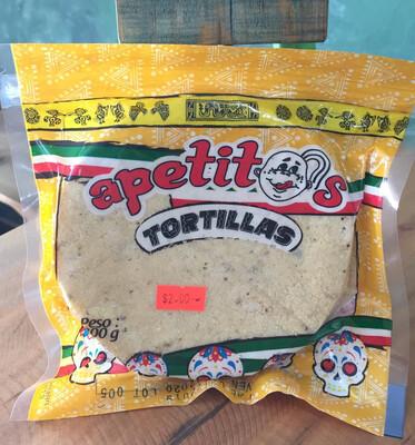 Tortillas de maíz x 200 gr