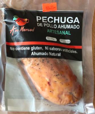 PECHUGA DE POLLO AHUMADO X 175 GR