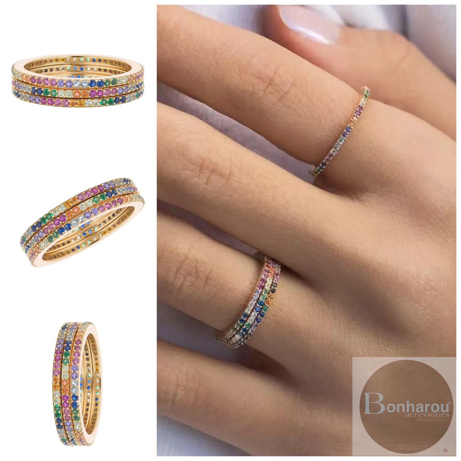THEA RAINBOW RING 1 PZA.