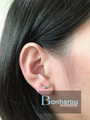 MIDDLE MOON EARRINGS