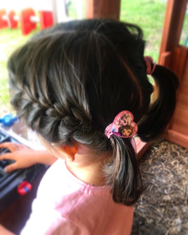 FROZEN HAIR ROPE 4 PZAS