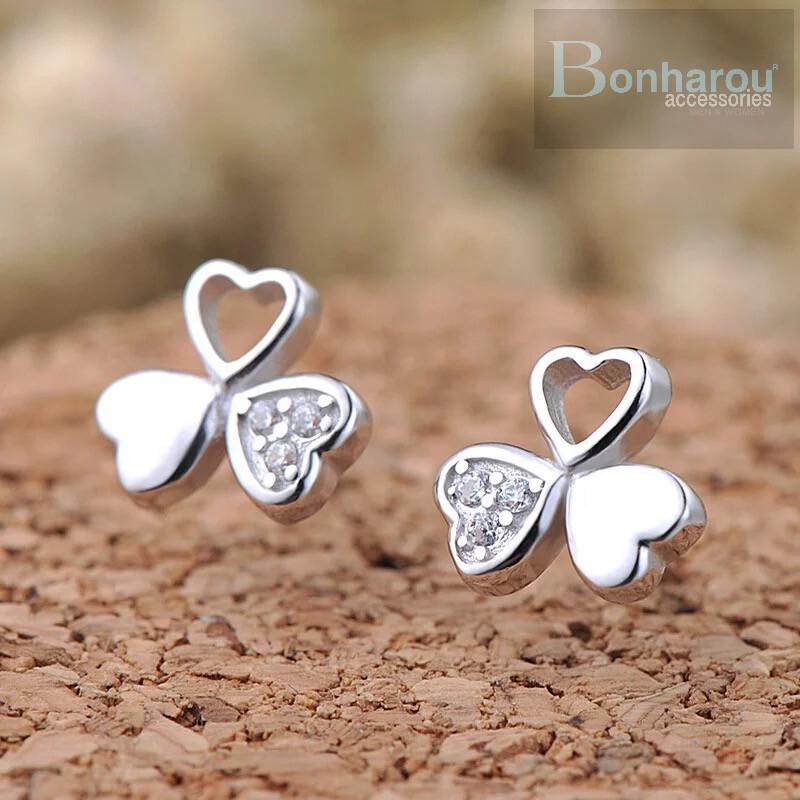 CLOVER DIAMOND EARRING