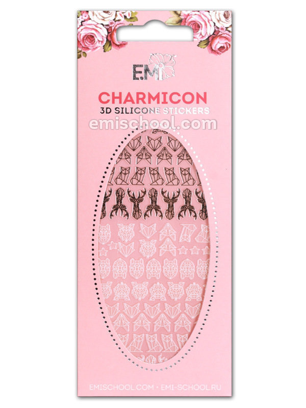 Charmicon 3D Silicone Stickers #73 Animals.Graphics