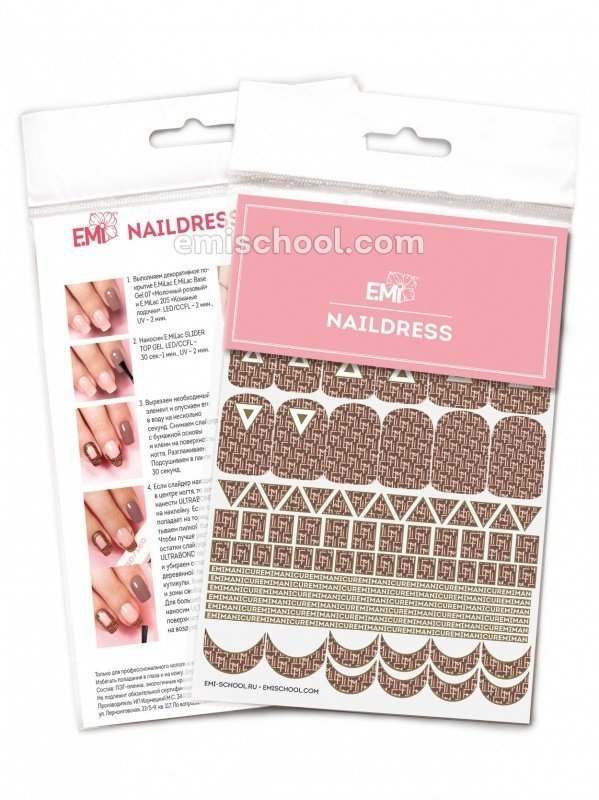 Naildress Slider Design #12 E.Mi-print