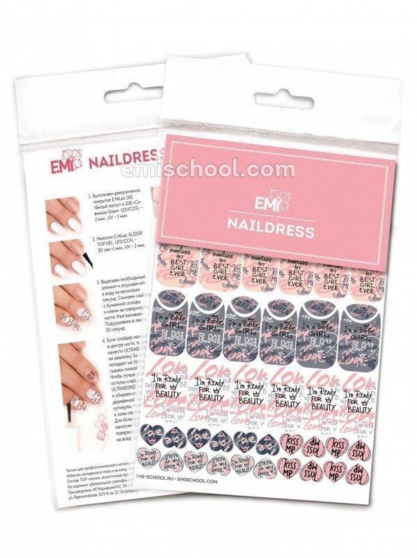 Naildress Slider Design #16 Graffiti