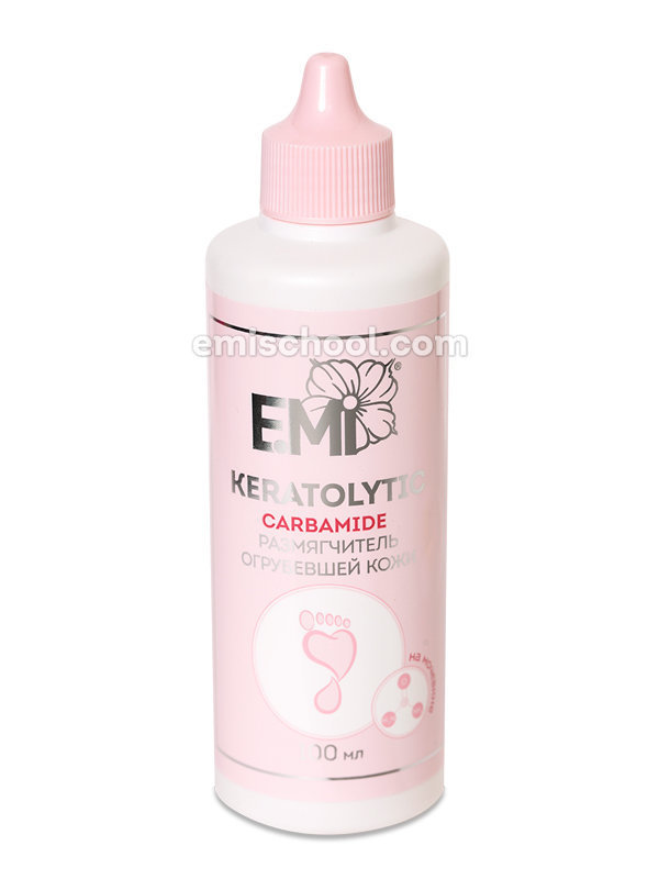 Rough skin softener based on carbamide, 30/100 ml.