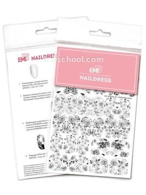 Naildress Slider Design #37 Watercolor Flowers