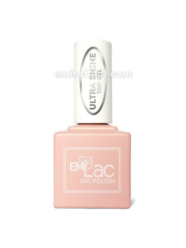 E.MiLac Ultra Shine Top Gel, 15 ml.