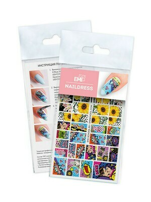 Naildress Slider Design #55 Pop Art