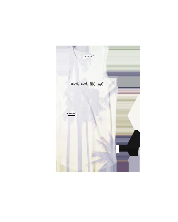 Apolo -  Sleeveless PALMAS Shirt