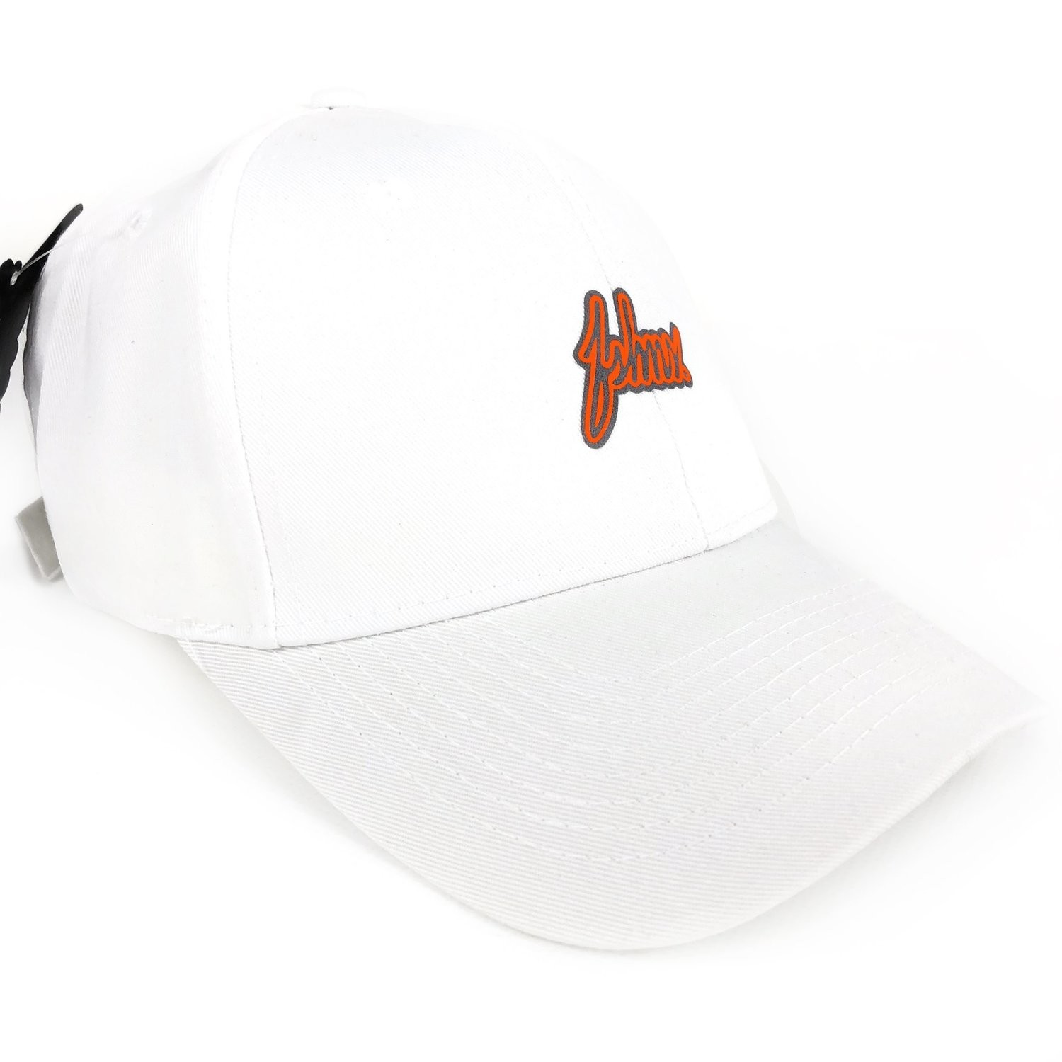 FSHNS - White Orange Logo Cap