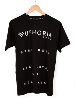 Euphoria - Stay Real Grey Tee