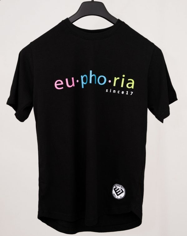 Euphoria - Black Tee COLORS