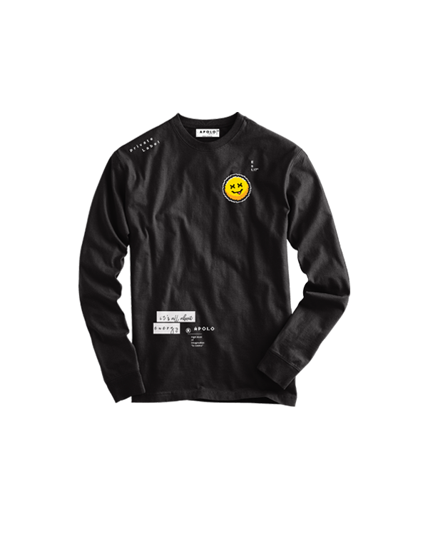 Apolo - Smiley Face Jacket