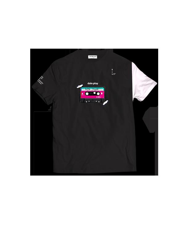 Apolo - Cassette Black Shirt