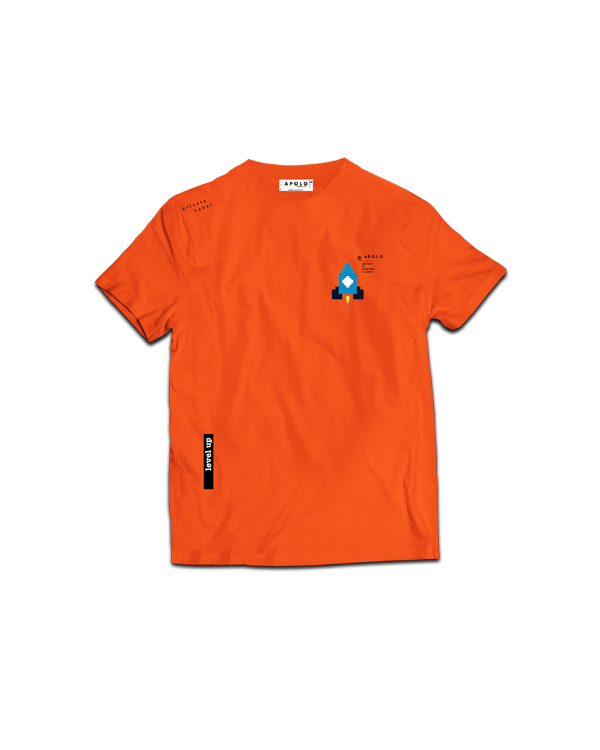 APOLO - ORANGE ROCKET TEE