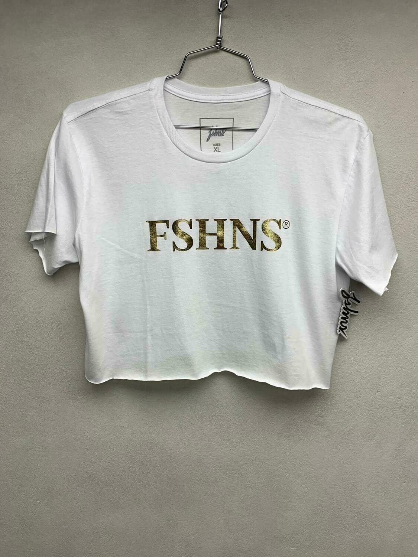 FSHNS White & Gold Top