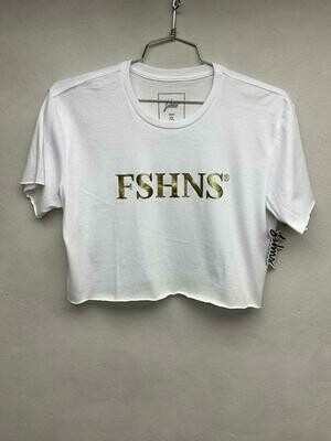 FSHNS White & Gold Top