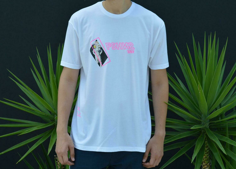 Fshns Astronaut Pink & White