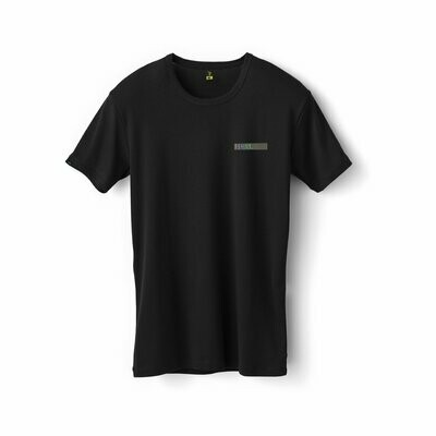 Fshns Tornasol Embroidered Black Tee