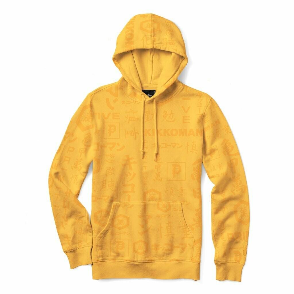 Primitive - Kikkoman Yellow Hoodie