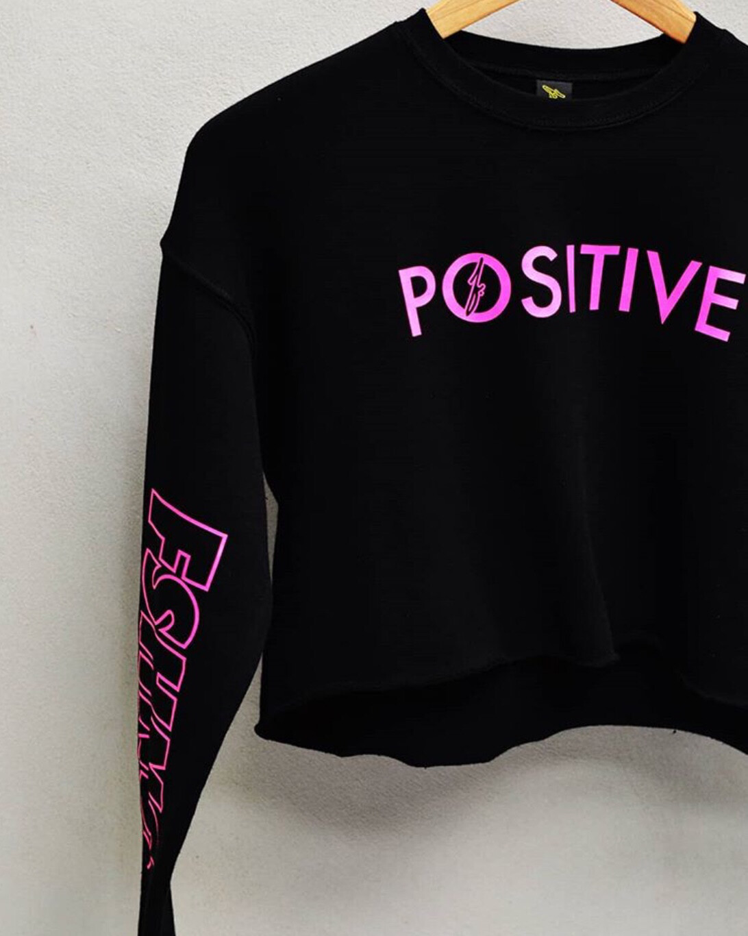 FSHNS Positive Long Sleeve Top (Black)