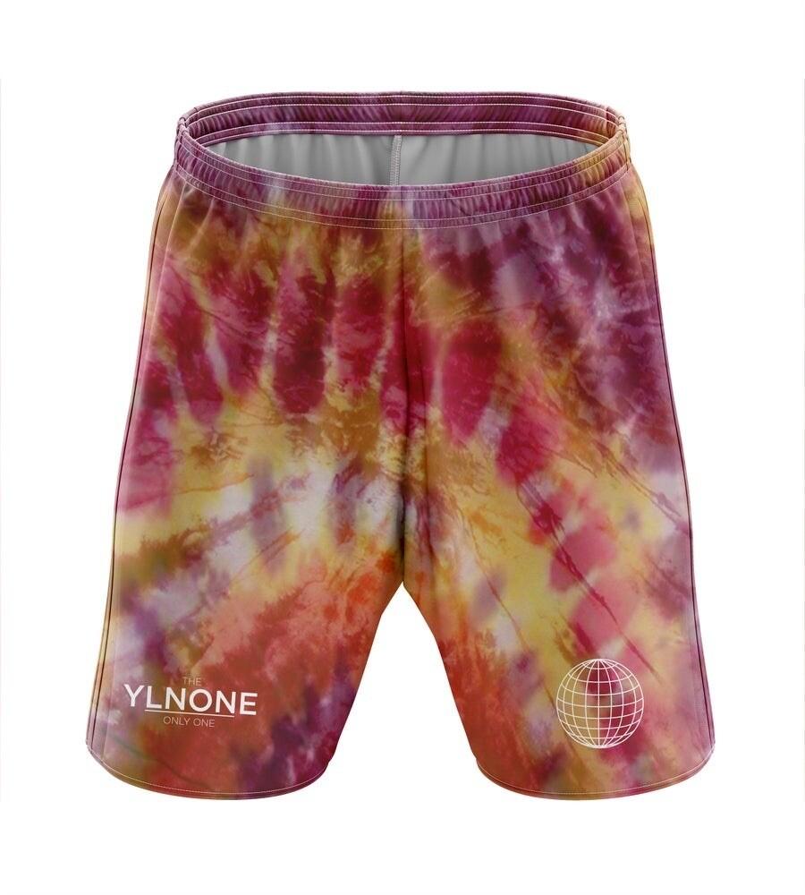 ONLYONE - Orange Tye Dye Shorts
