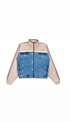 OnlyOne Half Denim Jacket