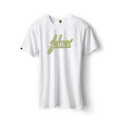FSHNS- Suede Big Logo Wht/Yellow