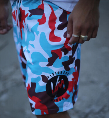 VM - Colors Camo Shorts